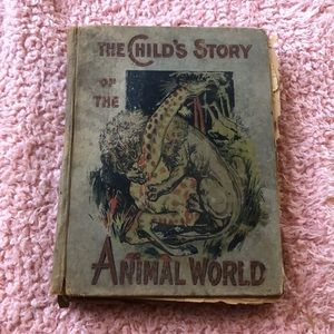Antique the child's story of the animal world